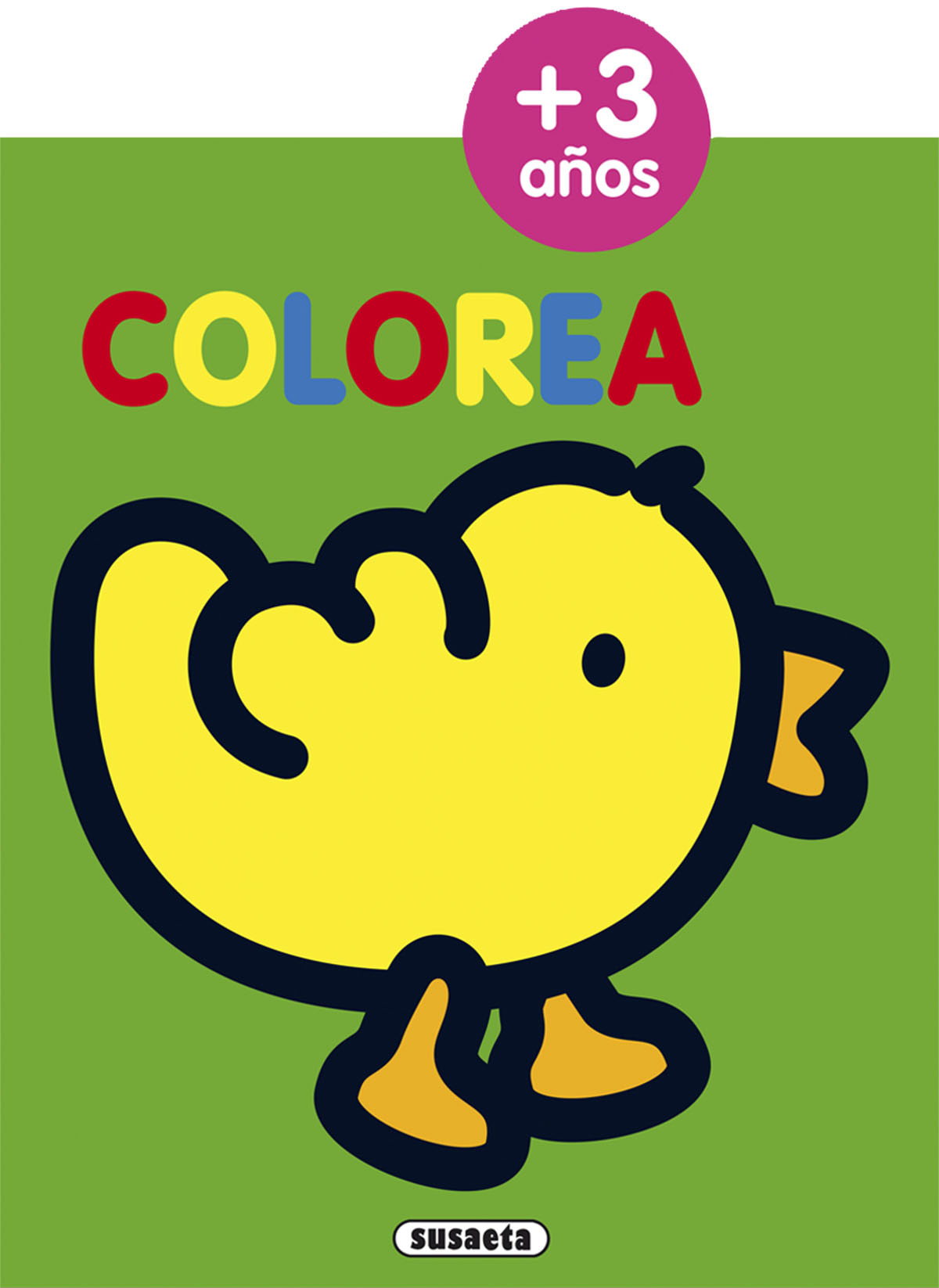 Colorea por edades 3 años