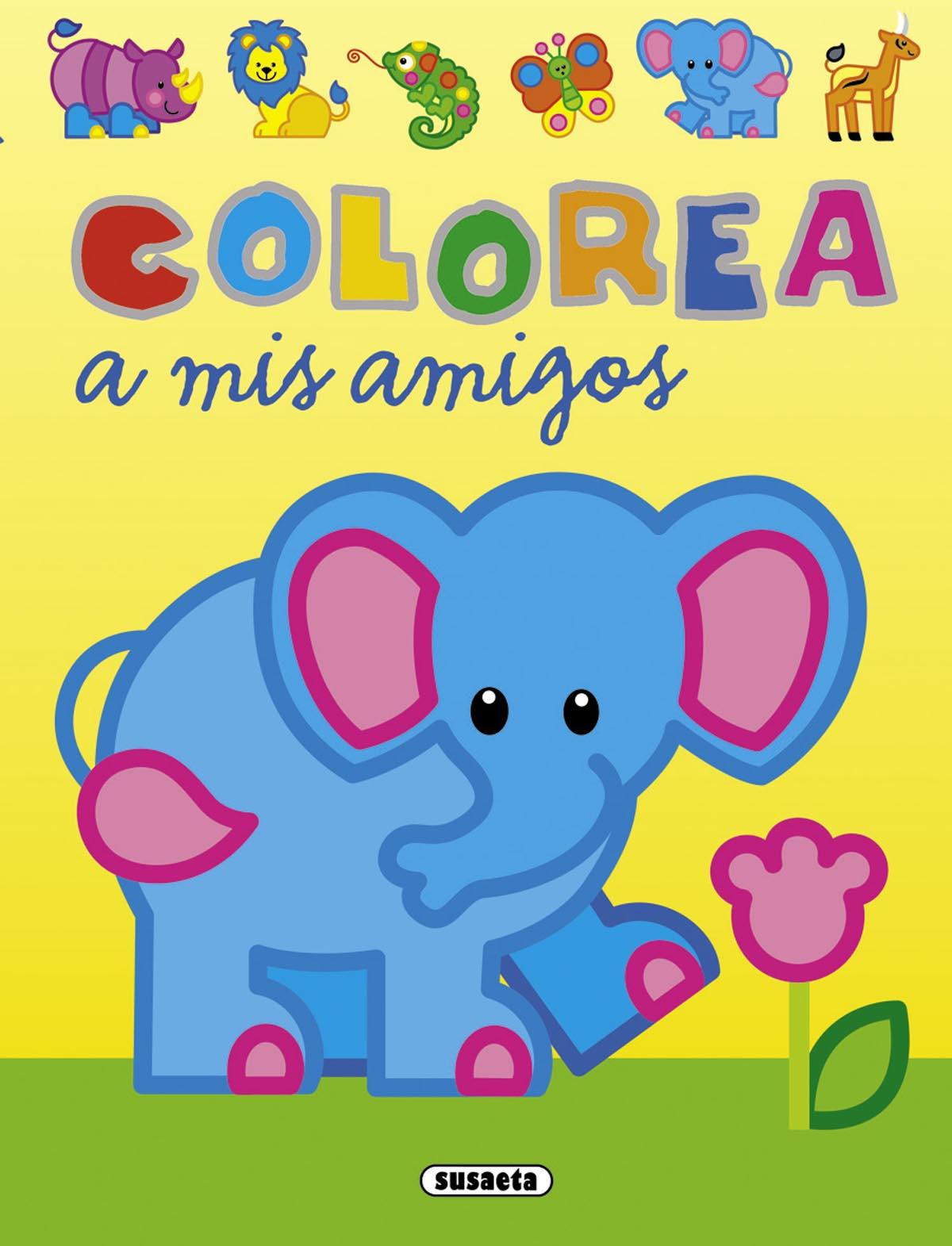 Colorea a mis amigos