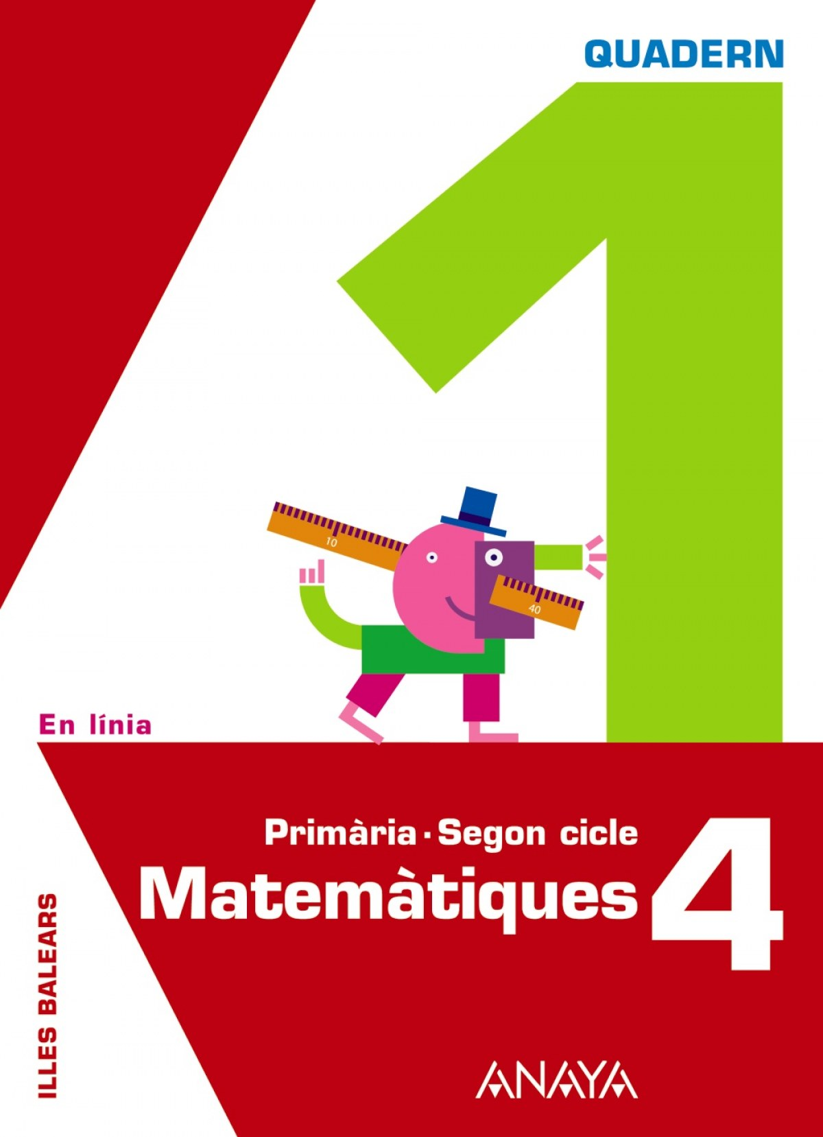 QUAD.MATEMATIQUES 1-4T.PRIM.(EN LINIA)