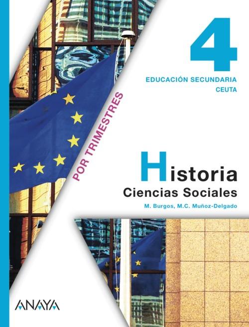 (CEU).CIENCIAS SOCIALES 4ºESO *TRIMESTRAL* (CEUTA)