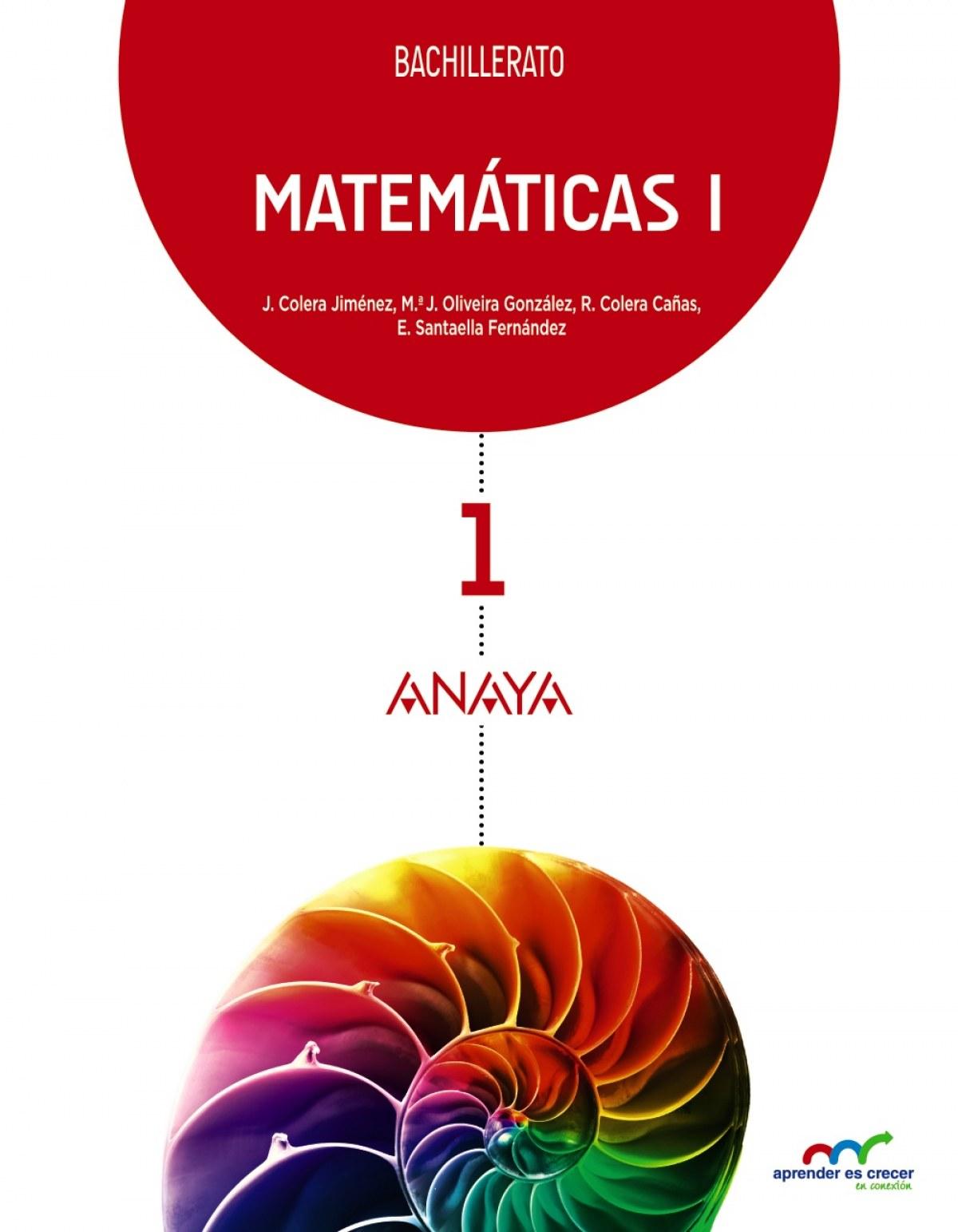 Matemáticas I. 9788467826883