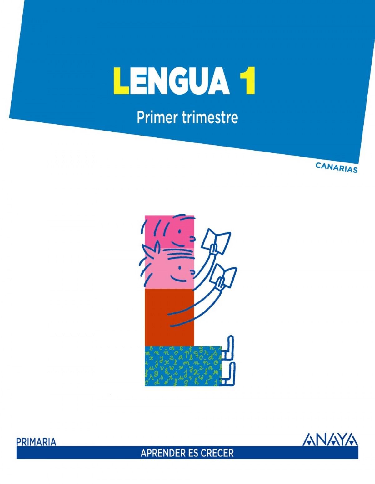 (CAN).(14).LENGUA 1º PRIM.(TRIM).*CANARIAS*(APRENDER CRECER