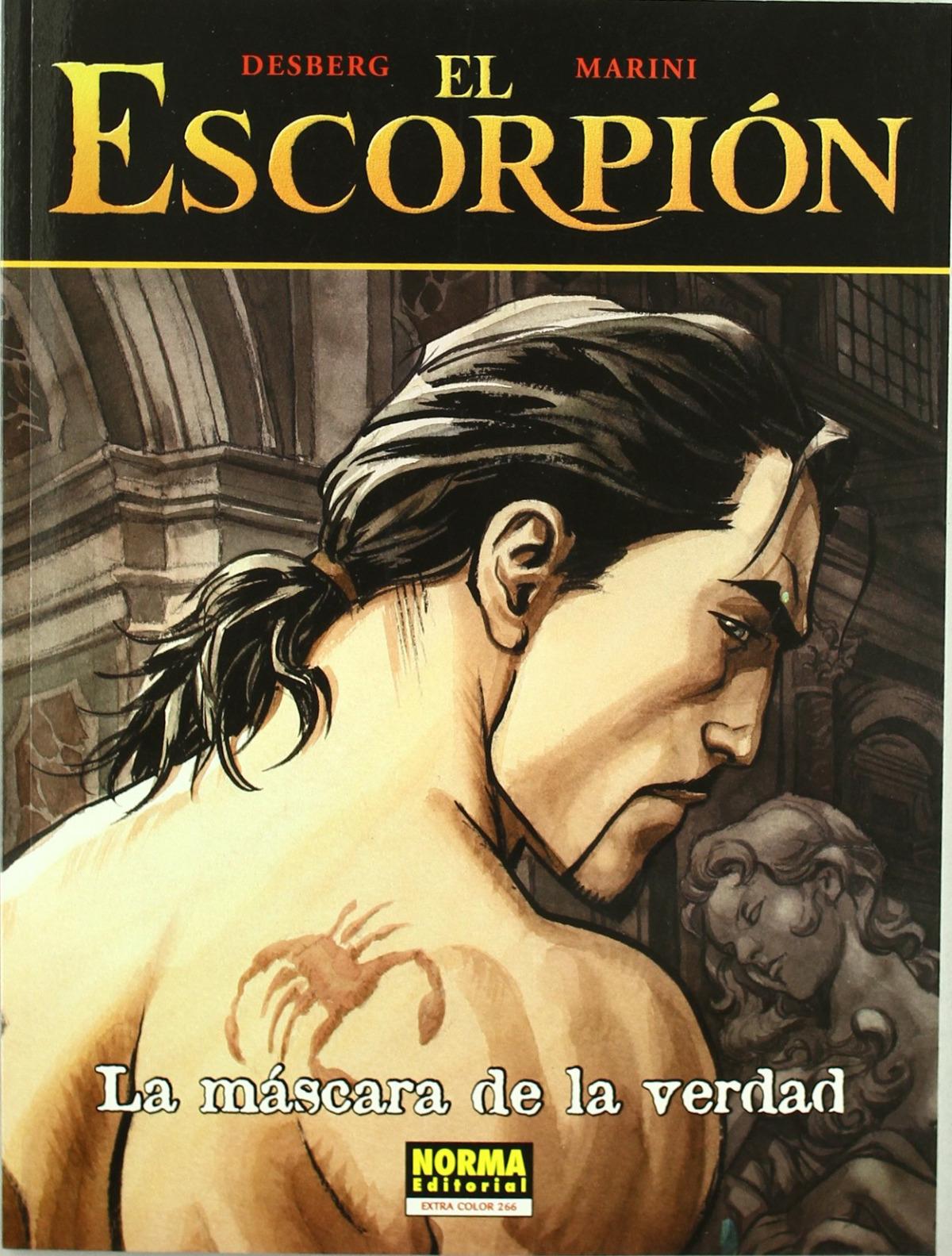 El escorpion 09. la mascara de la verdad