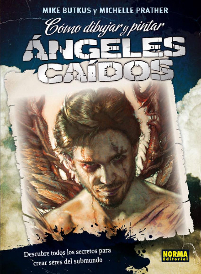 Cómo dibujar y pintar ángeles caidos