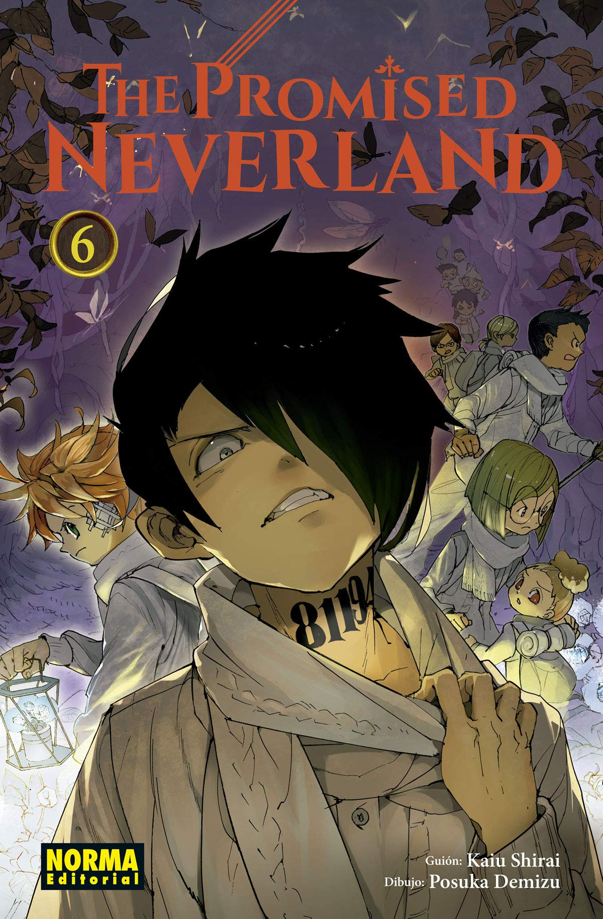 THE PROMISED NEVERLAND 6 9788467934557