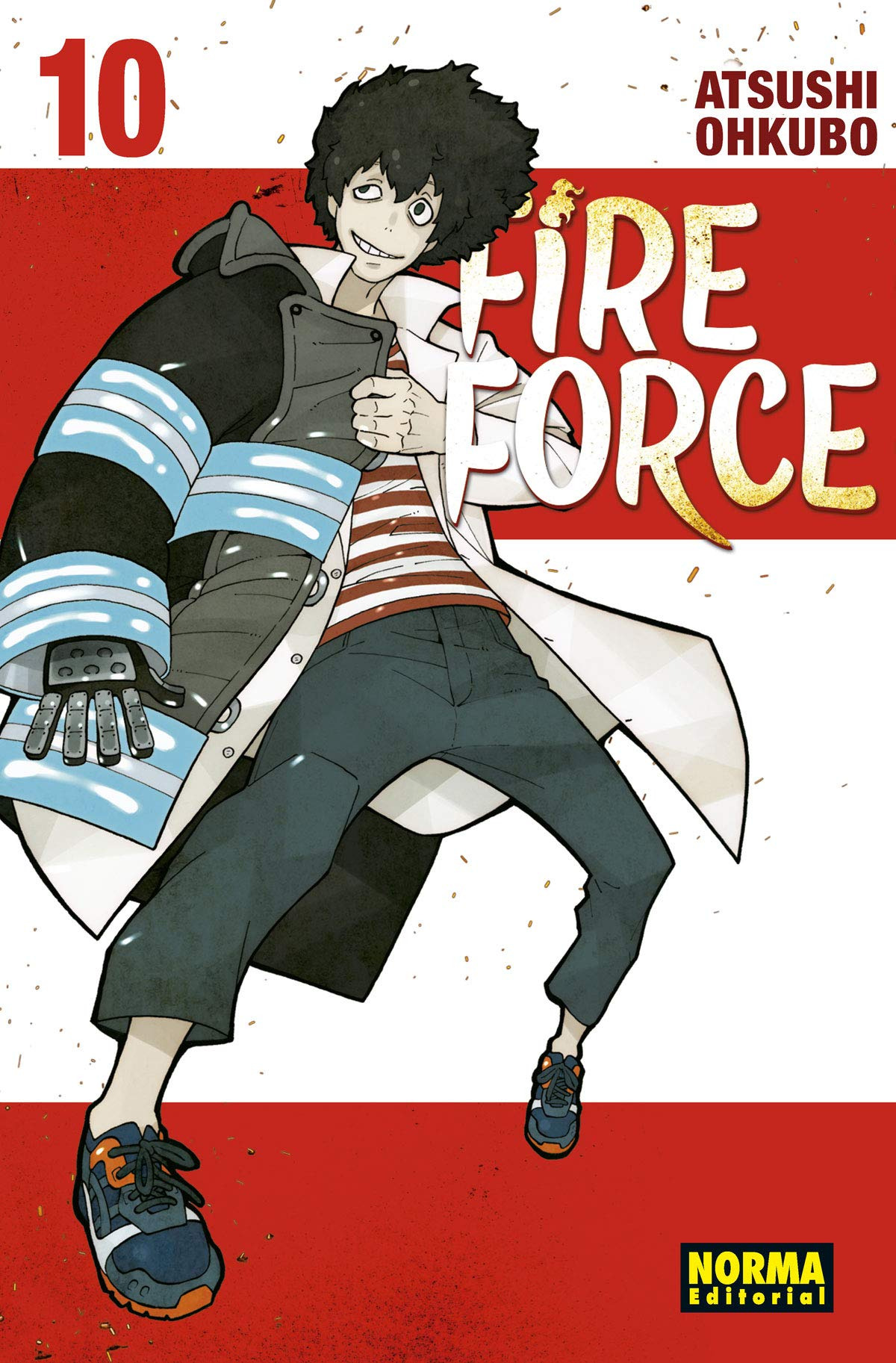 FIRE FORCE 10 9788467935943