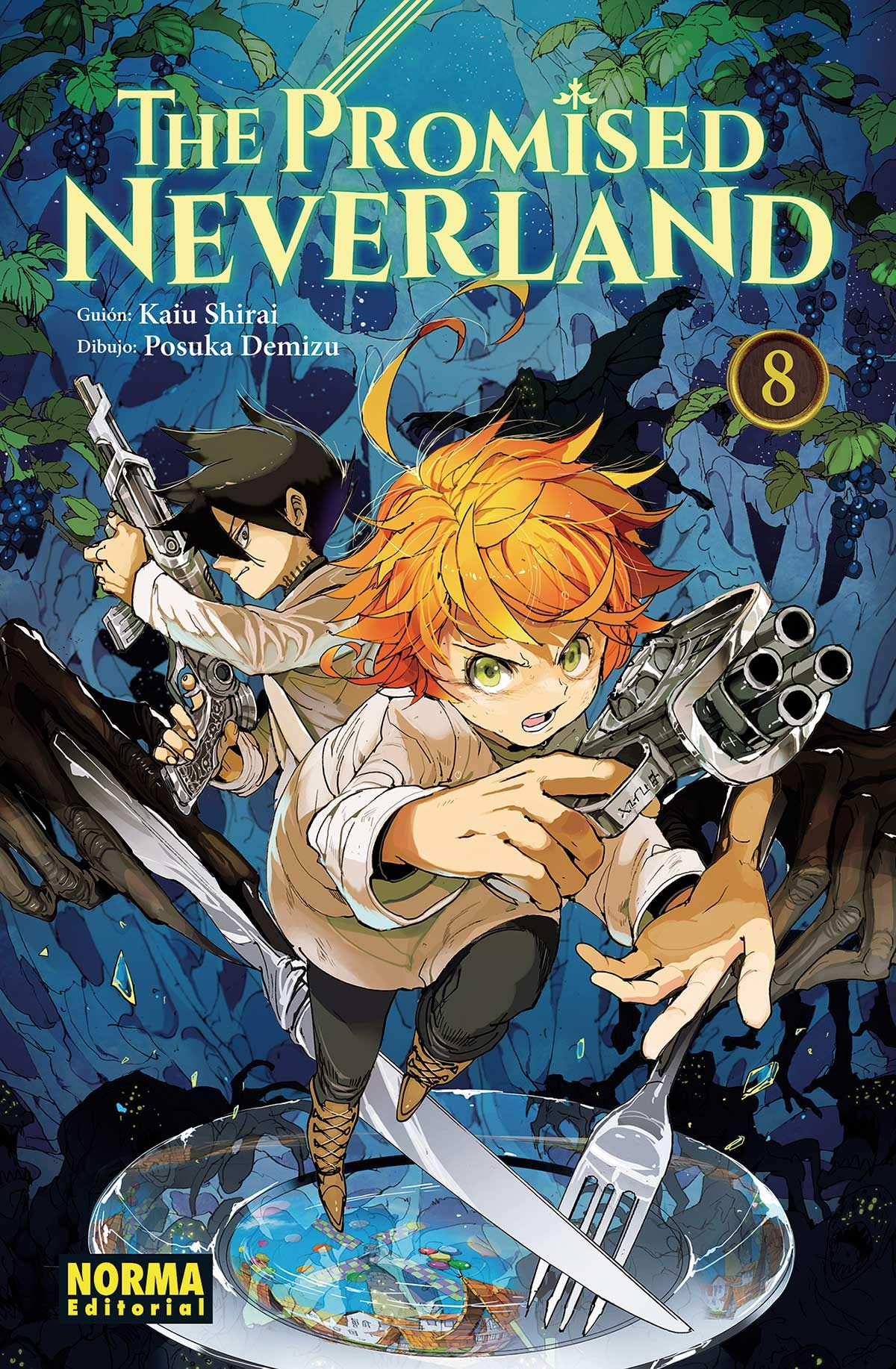 THE PROMISED NEVERLAND 8 9788467936759