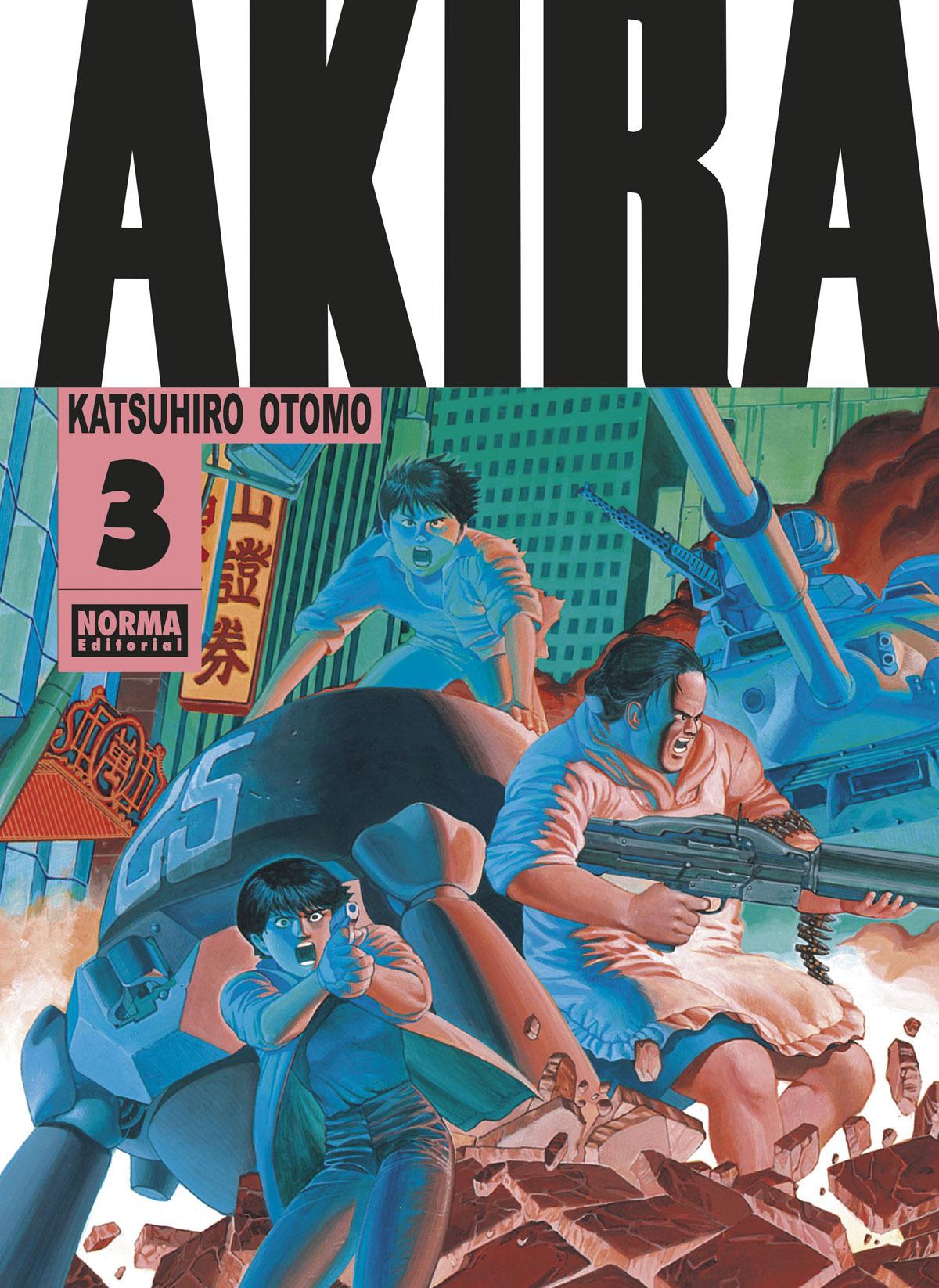 Akira B/N 03