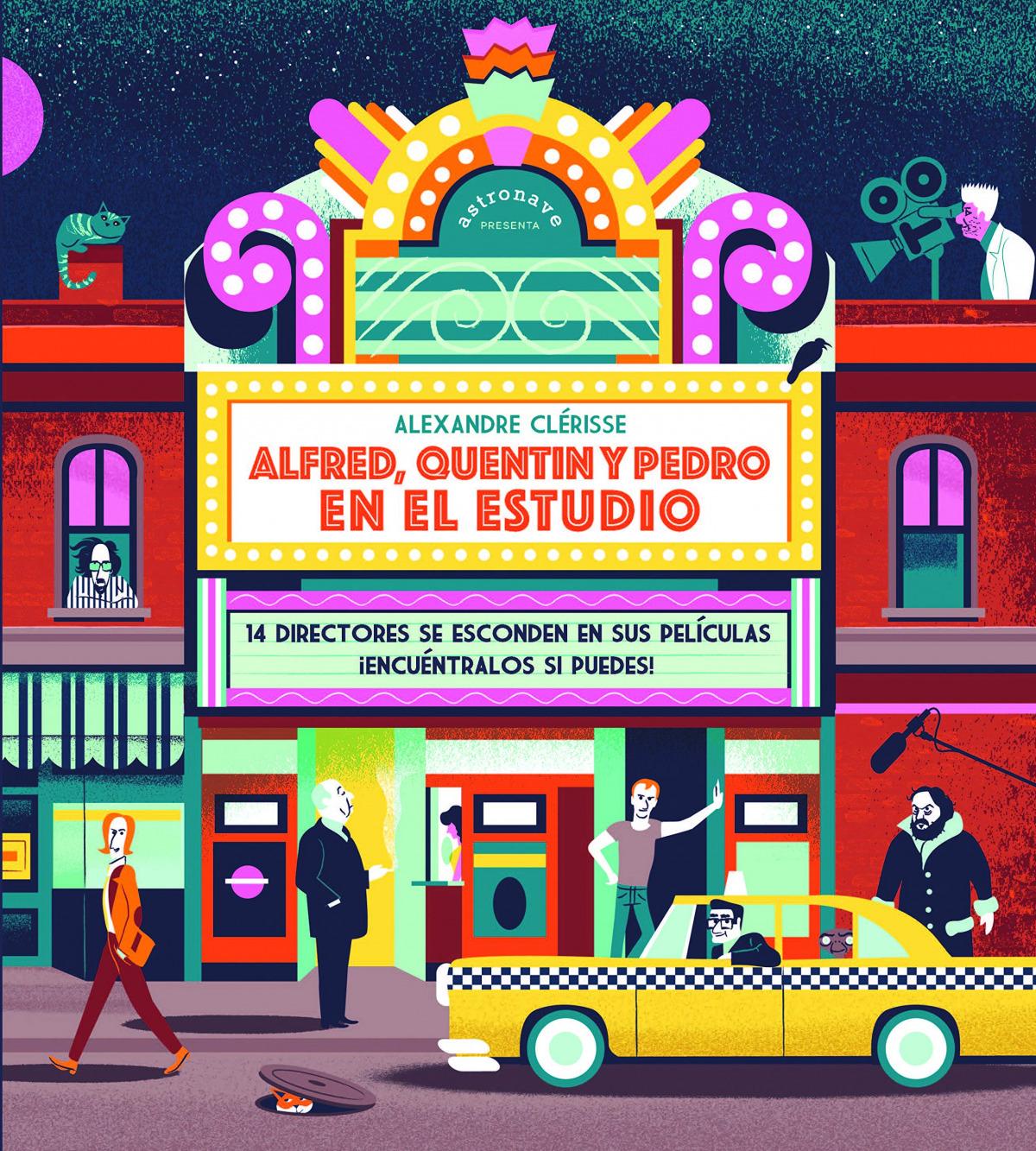 ALFRED, QUENTIN Y PEDRO EN EL ESTUDIO:14 DIRECTORES