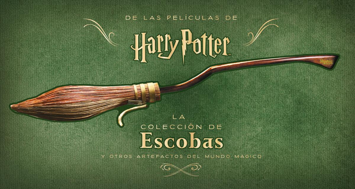Harry Potter: La colección de escobas y otros artefactos del mund