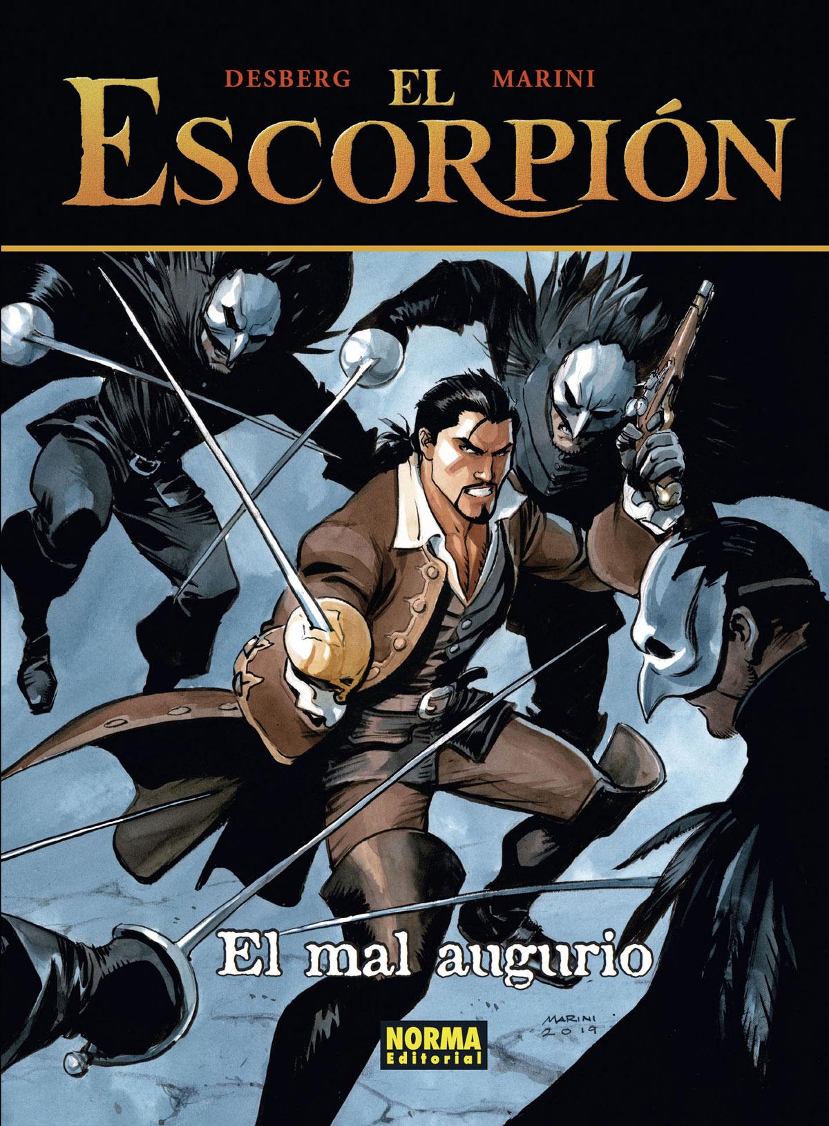 El Escorpión 12. El Mal Augurio (Cartoné)