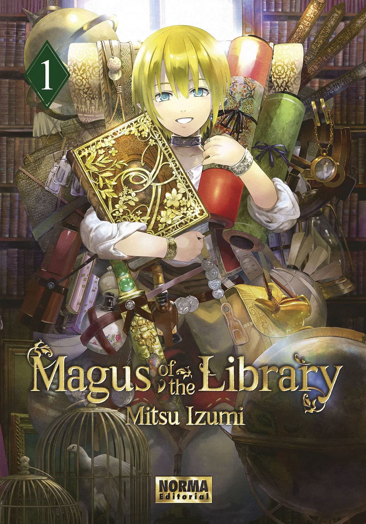 MAGUS OF THE LIBRARY 01
