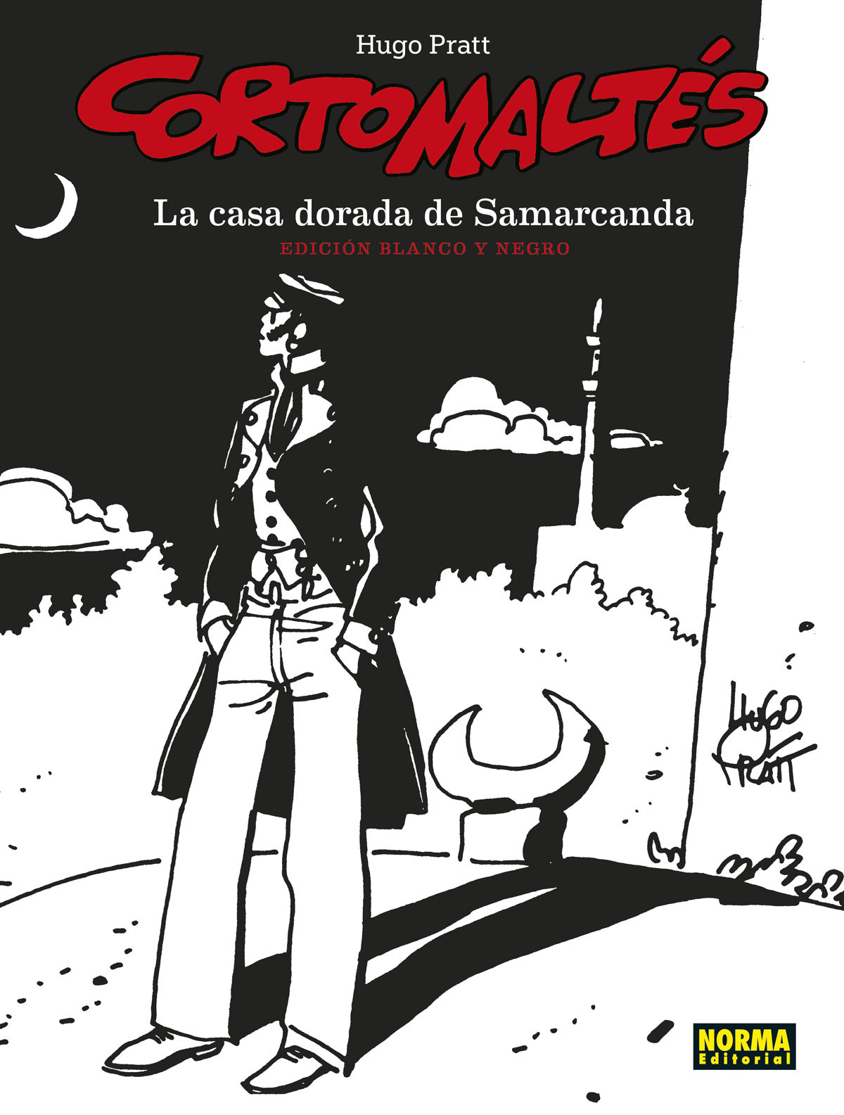 CORTO MALTES. LA CASA DORADA DE SAMARCANDA. ED B/N