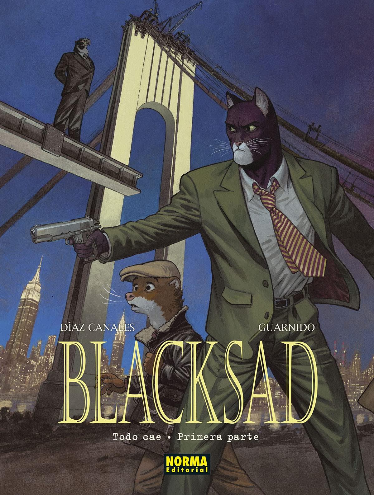 BLACKSAD 6. TODO CAE - PRIMERA PARTE