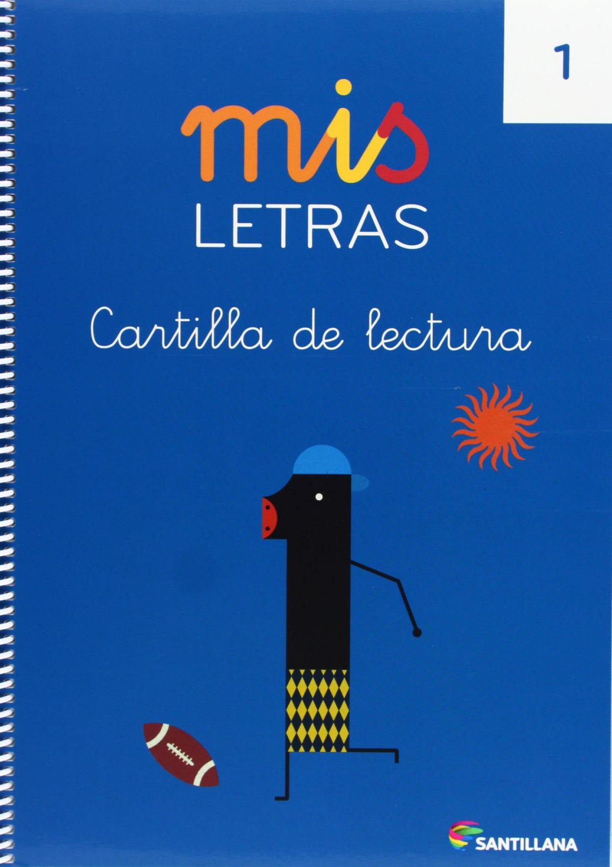 MIS LETRAS CARTILLA LECTURA 1 4 AñOS 2013 9788468015217
