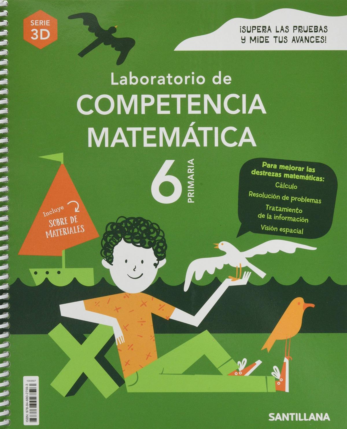 LABORATORIO DE COMPETENCIA MATEMATICA SERIE 3D 6 PRIMARIA