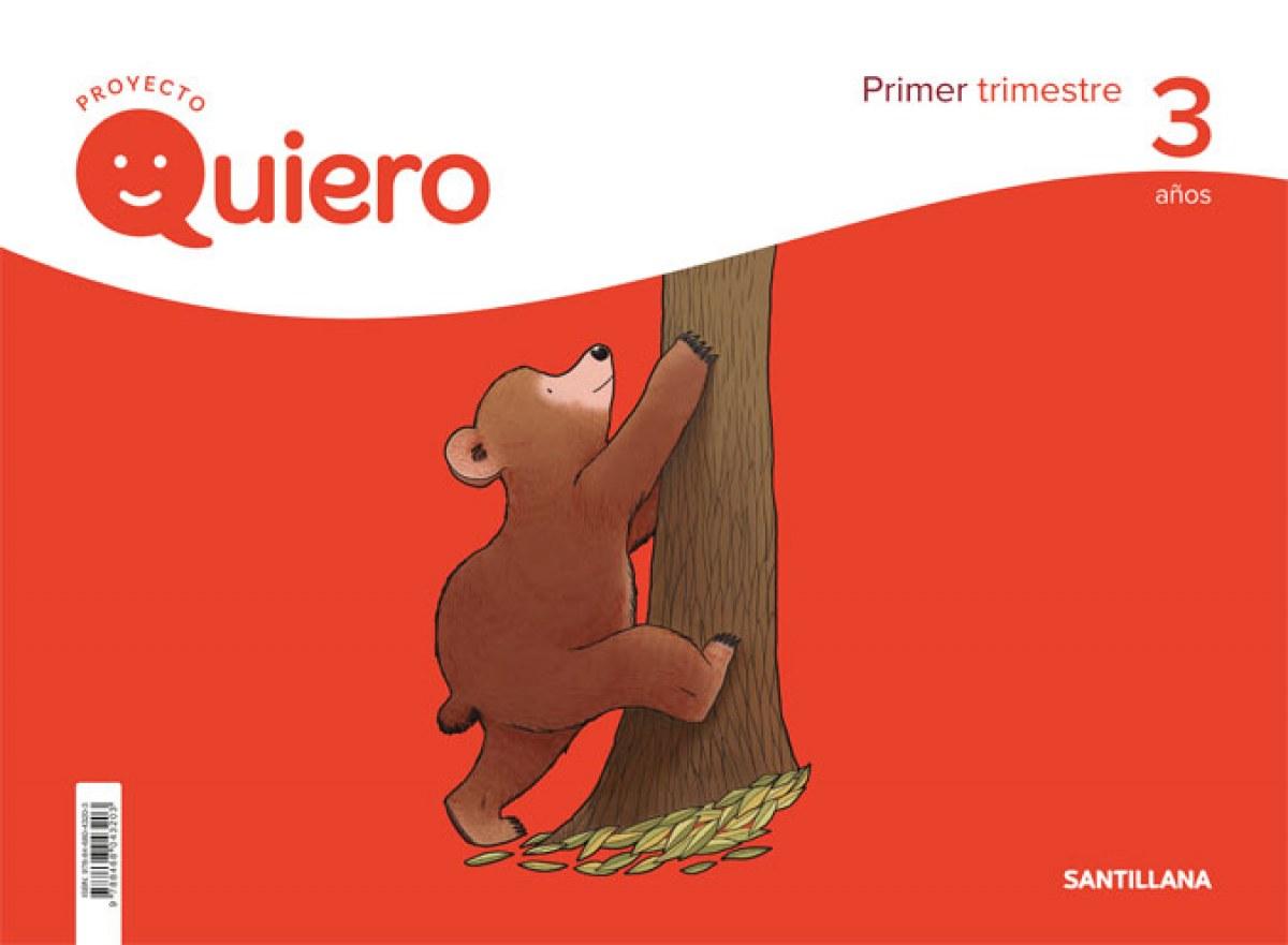 PROYECTO QUIERO 3 AñOS 1o.TRIMESTRE 9788468043203