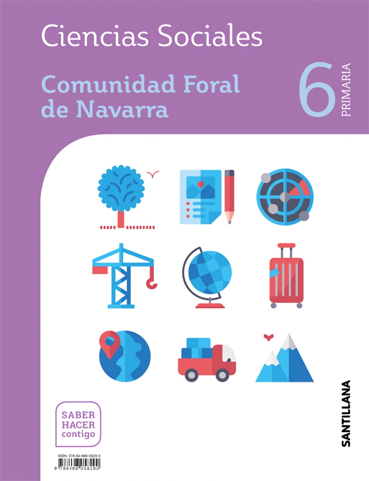 CIENCIAS SOCIALES NAVARRA 6 PRIMARIA SABER HACER CONTIGO