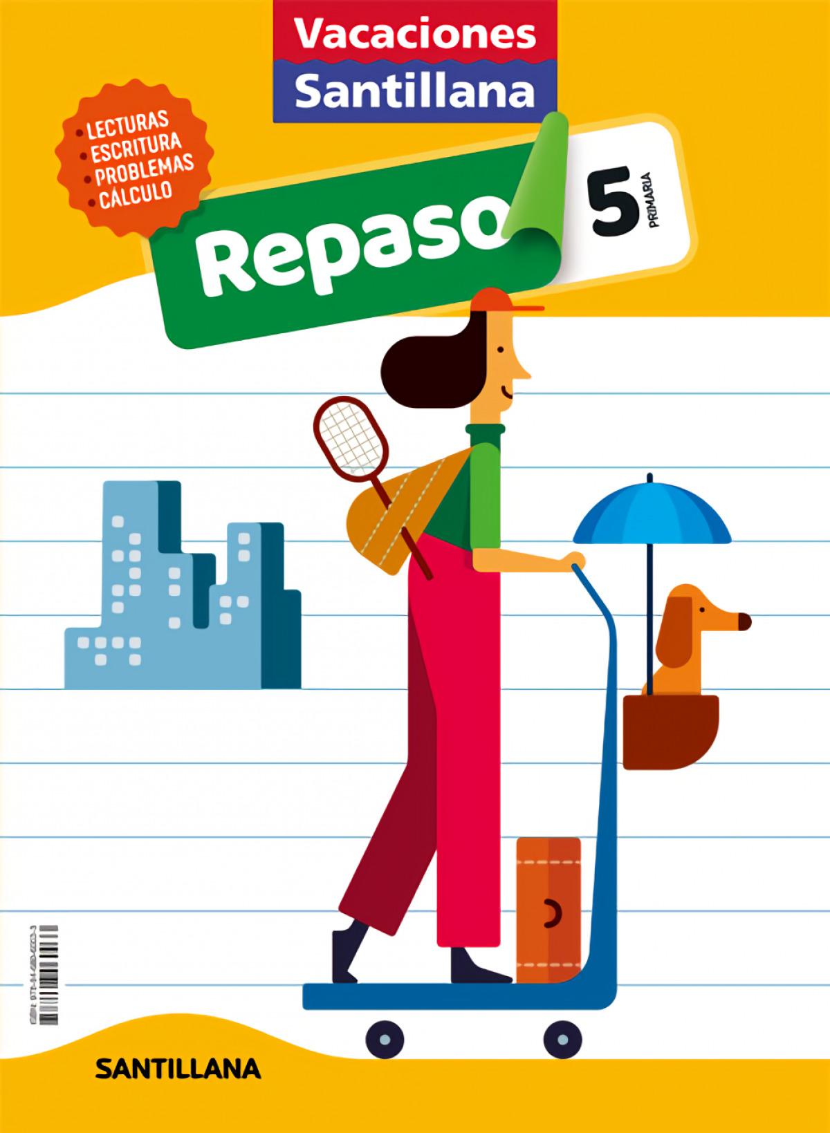 VACACIONES REPASO 5o.EP 2020 9788468060033