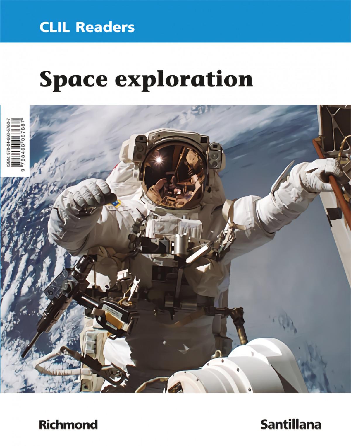 CLIL READERS NIV III SPACE EXPLORAT ED21