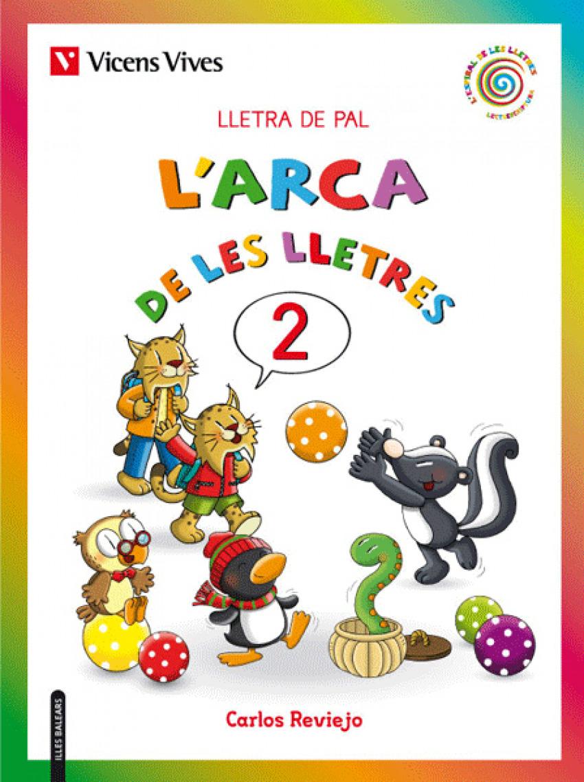 L'ARCA DE LES LLETRES 2. LLETRA PAL 2019