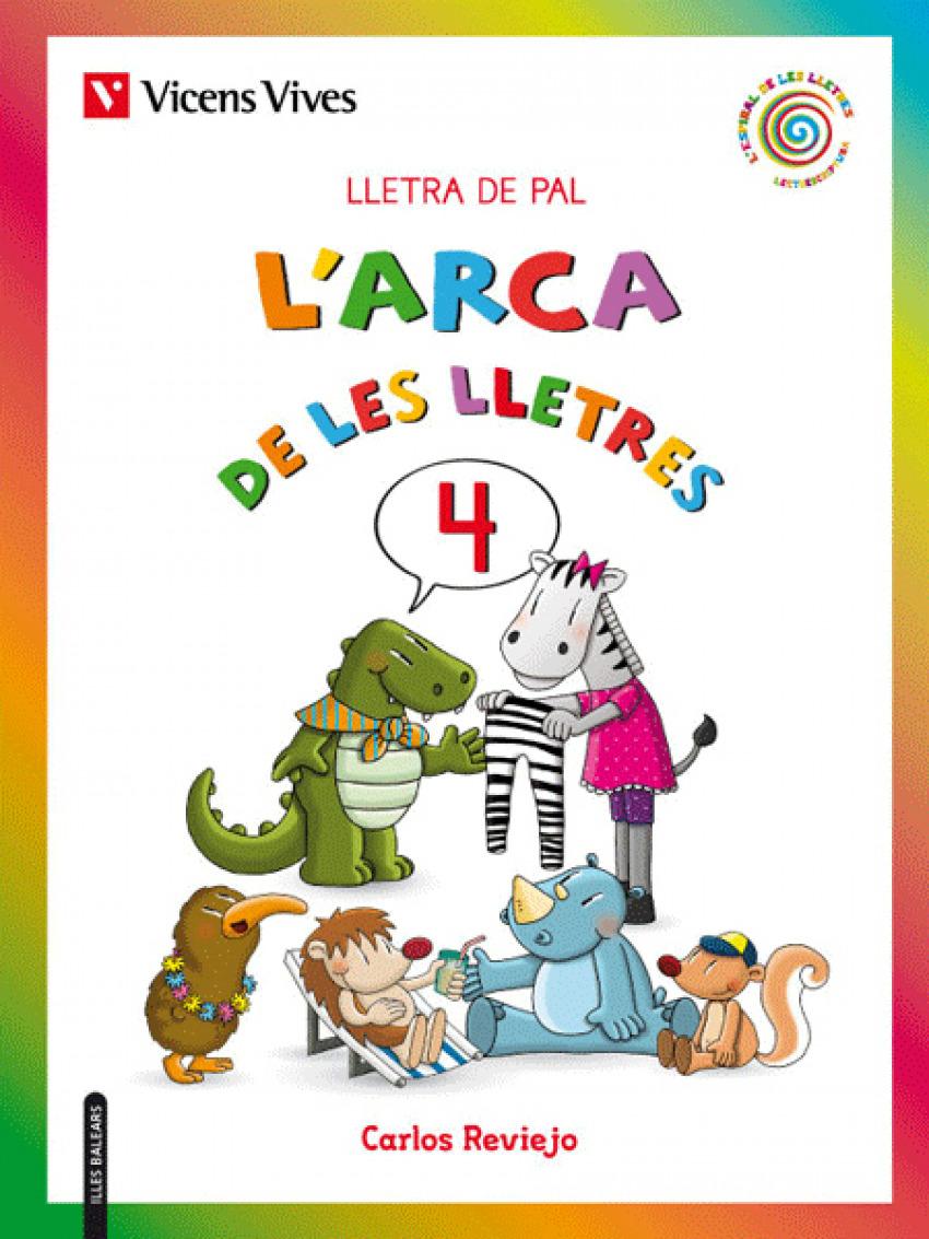 L'ARCA DE LES LLETRES 4. LLETRA PAL 2019