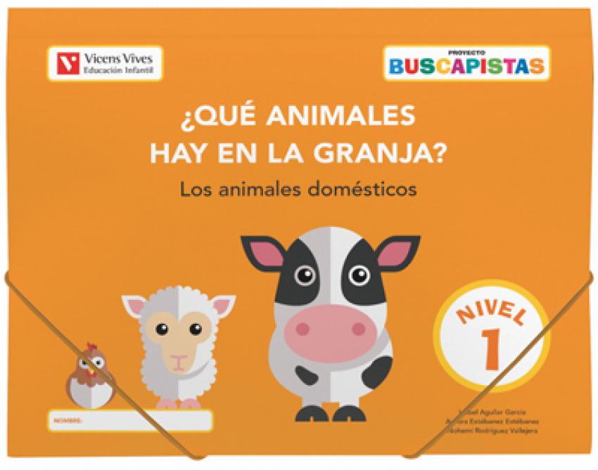 BUSCAPISTAS N-1¿QUE ANIMALES HAY EN LA GRANJA?(P3)