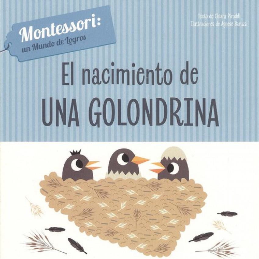 EL NACIMIENTO DE UNA GOLONDRINA 9788468261690
