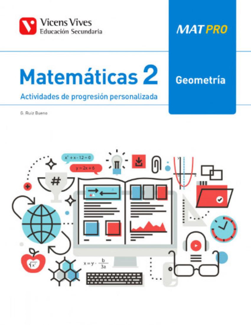 CUADERNO MAT PRO MATEMÁTICAS 2ºESO. GEOMETRIA 2019