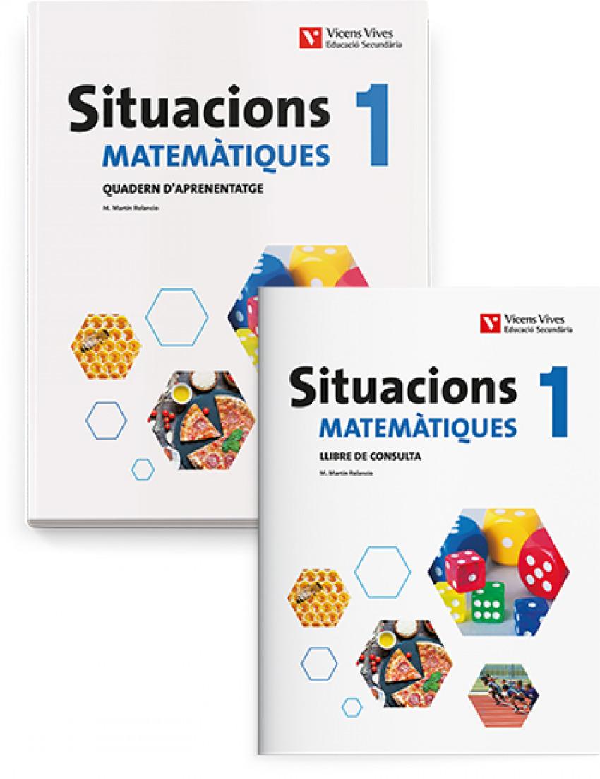 (20).situacions 1r.eso matematiques (llibre+quadern)
