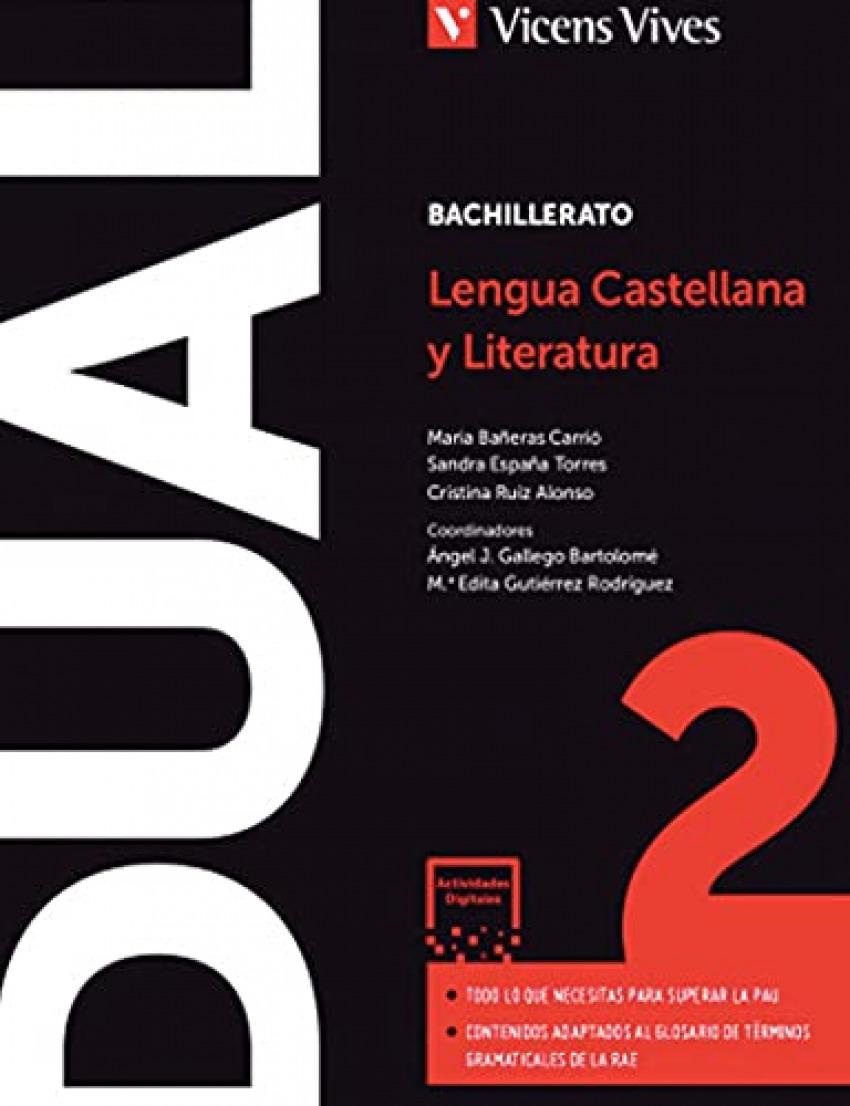 LENGUA Y LITERATURA 2ºBACHILLERATO. LIBRO +DIGITAL +ACTIVIDADES. CATALUNYA 2021