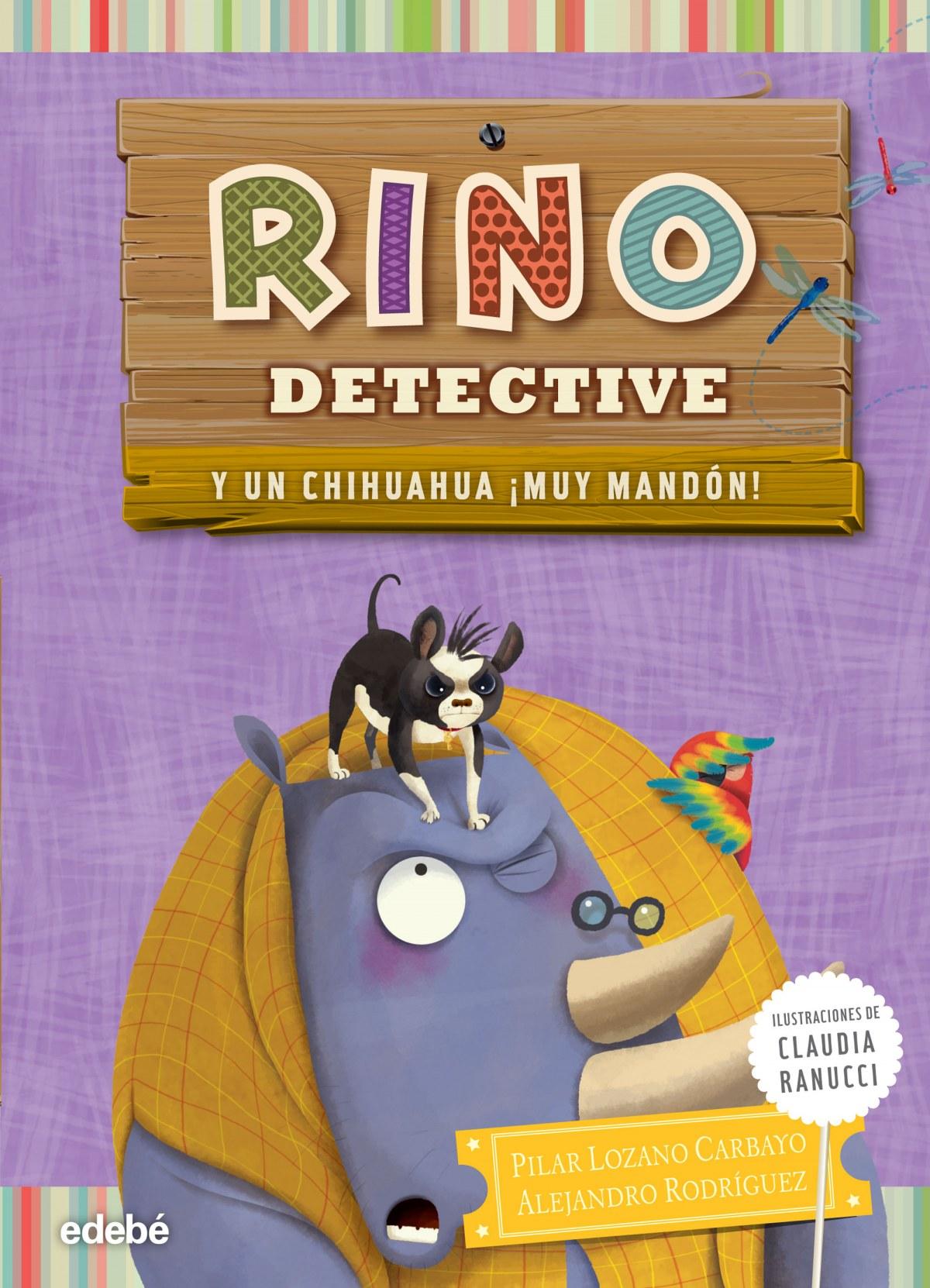 Rino detective y un chihuahua ¡muy mandón!
