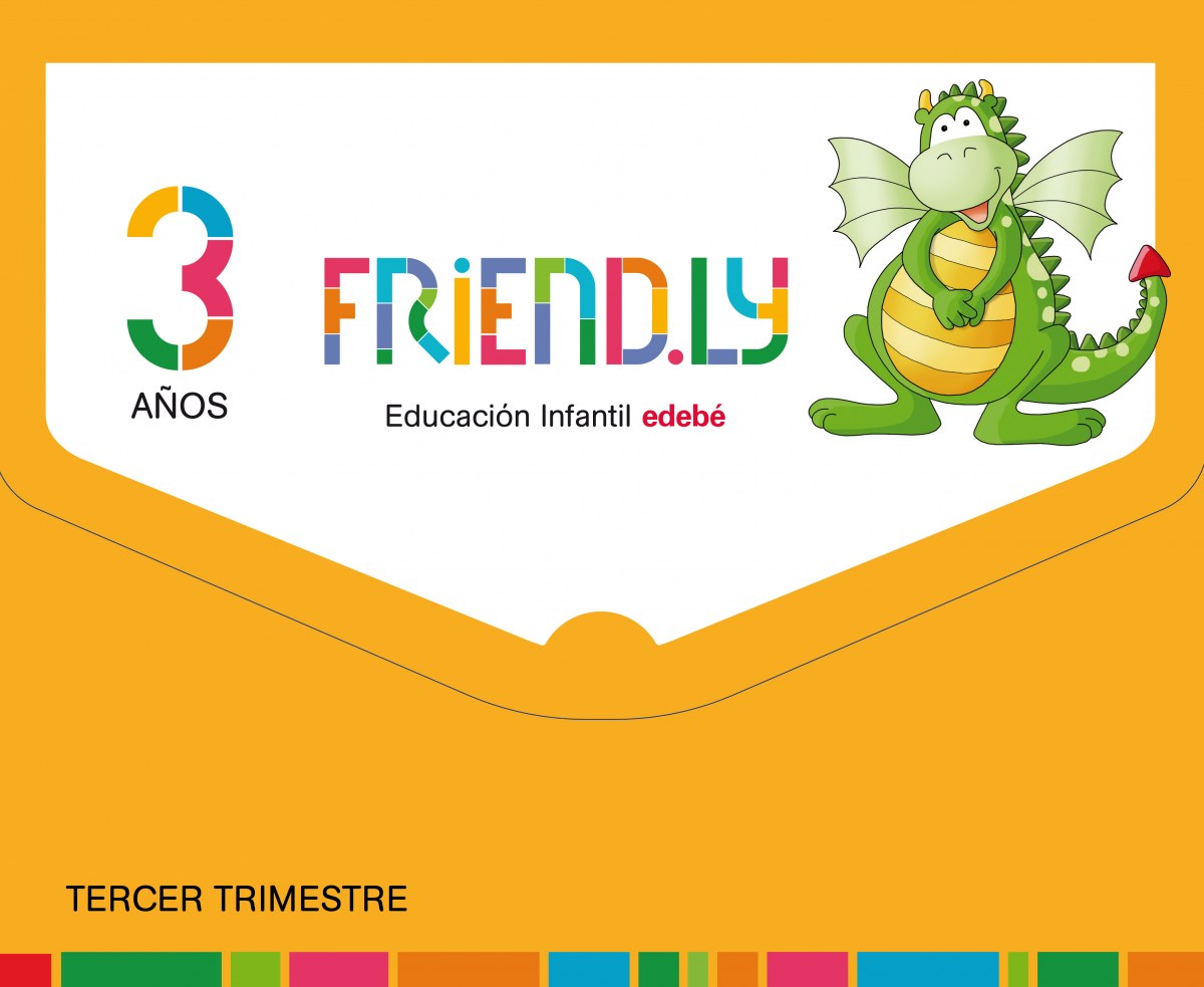 FRIENDLY 3 AñOS 3o. TRIMESTRE 2017 9788468332185