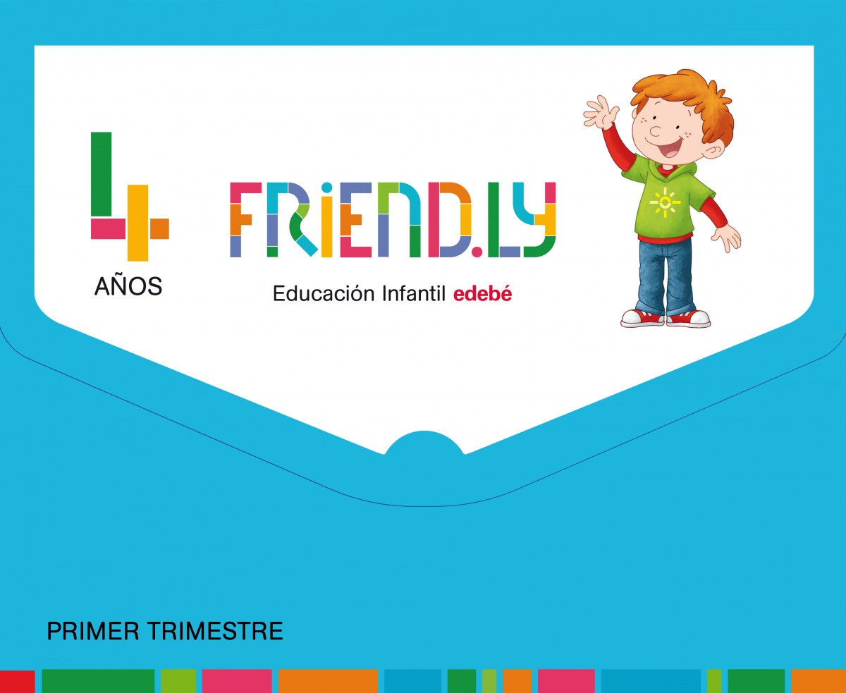 FRIENDLY 4 AñOS 1o. TRIMESTRE 2017 9788468332222