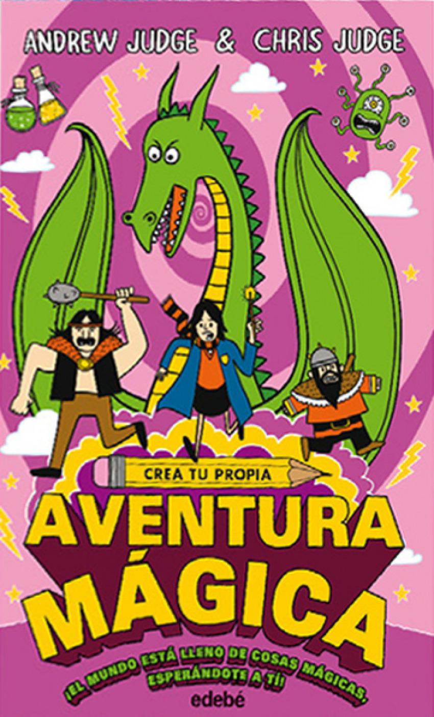 CREA TU PROPIA AVENTURA MÁGICA 9788468335155
