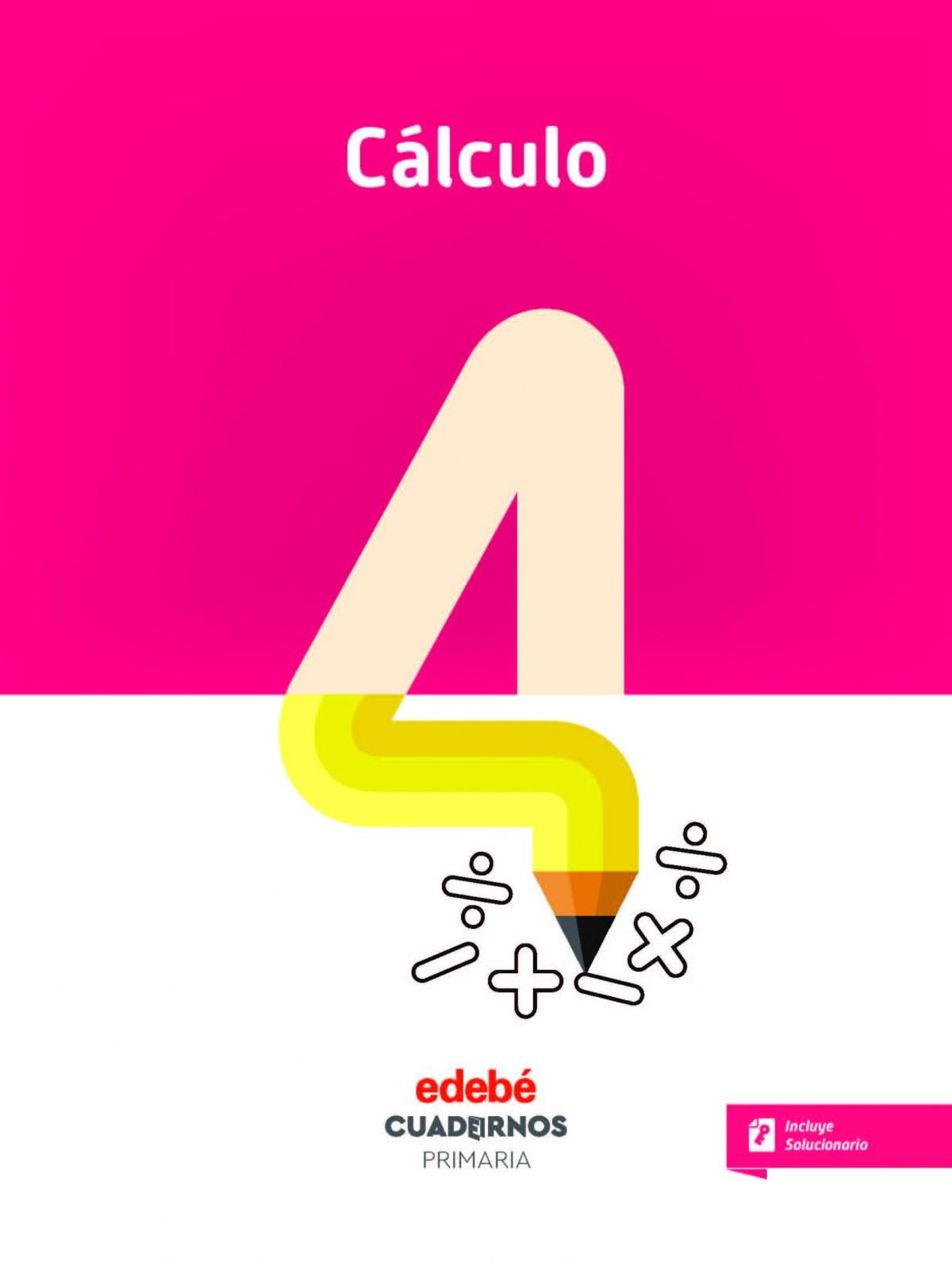 CUADERNO CÁLCULO 4 9788468335797