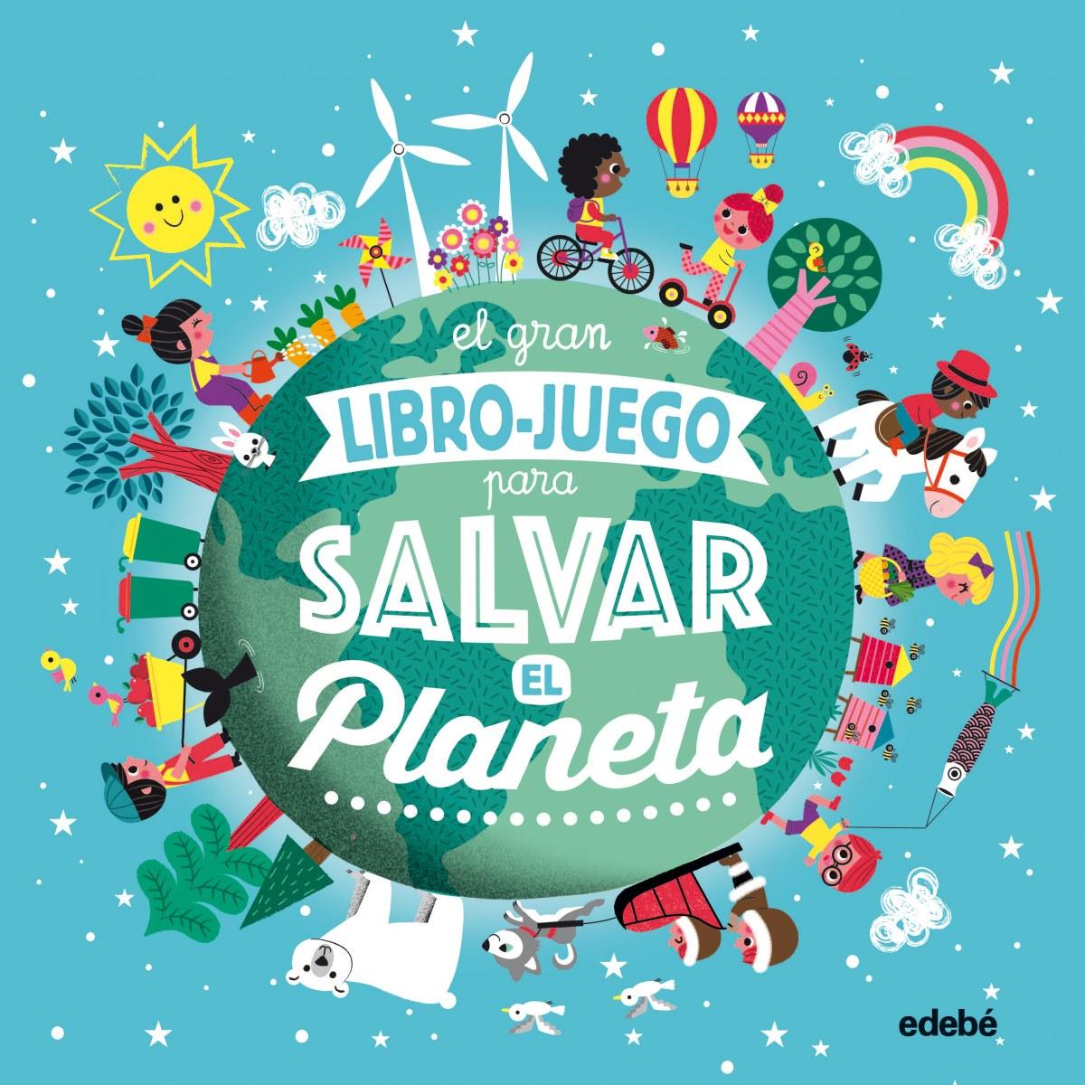 EL GRAN LIBRO JUEGO PARA SALVAR EL PLANETA 9788468336046