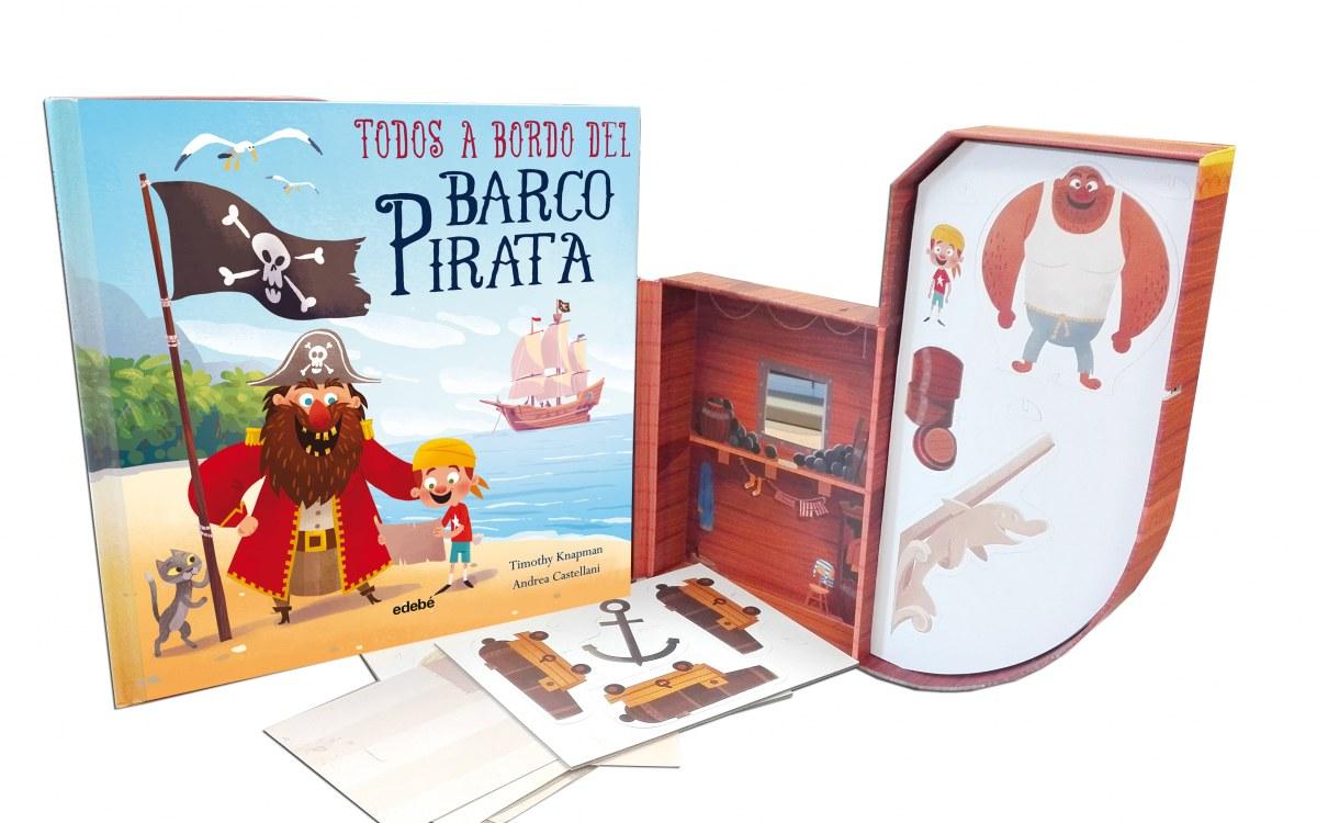 TODOS A BORDO DEL BARCO PIRATA 9788468337685