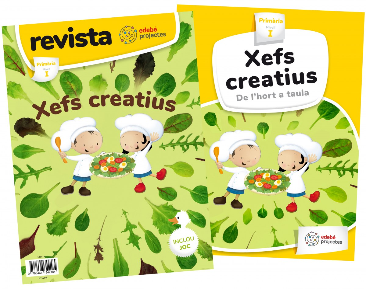 XEFS CREATIUS. DE L'HORT A LA TAULA 1R.PRIMARIA. PROJECTES