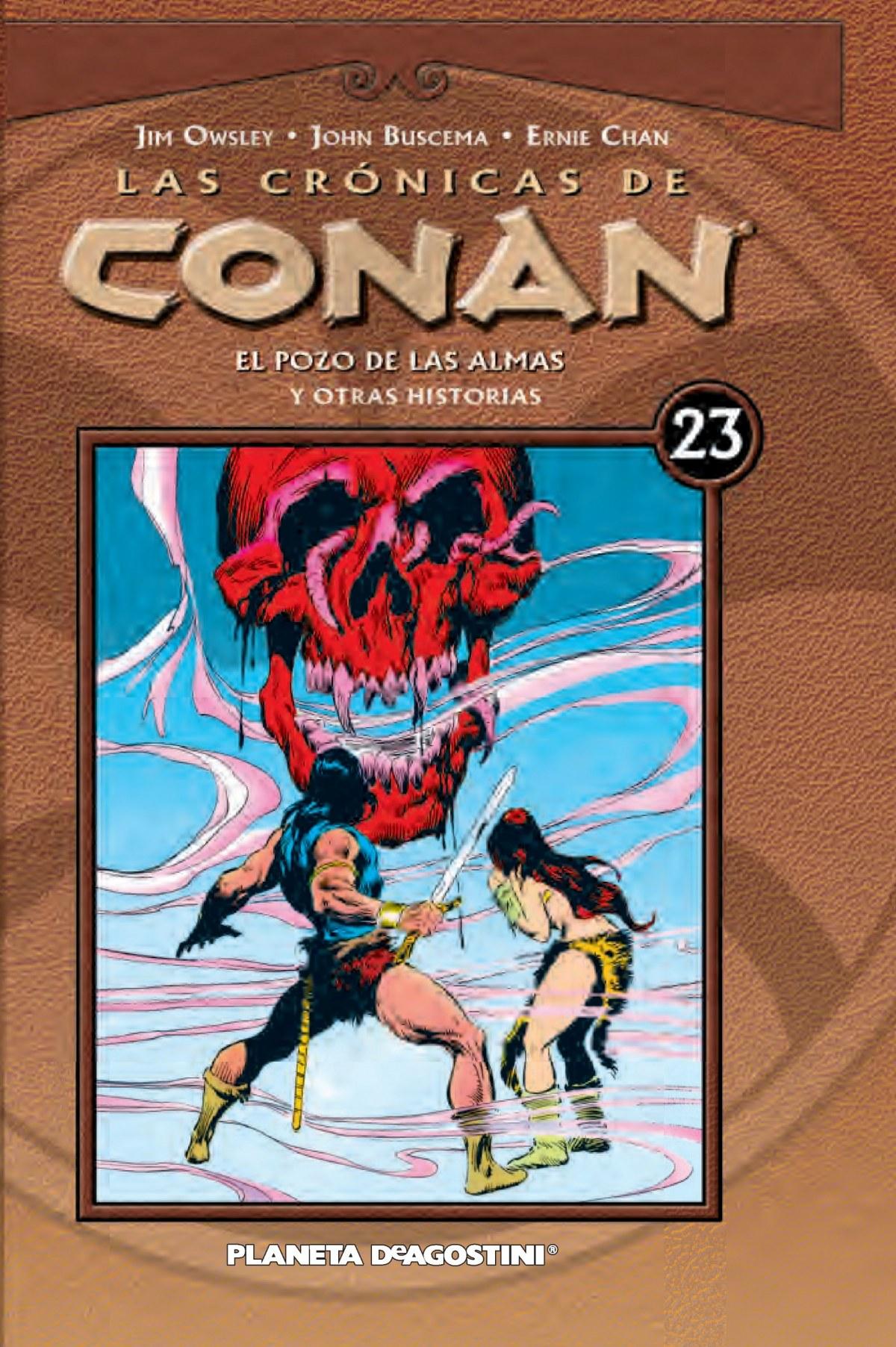 Las Crónicas de Conan Nº23