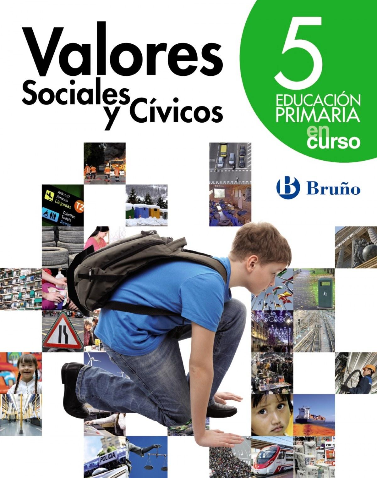 En Curso Valores Sociales Y Civicos 5 Primaria