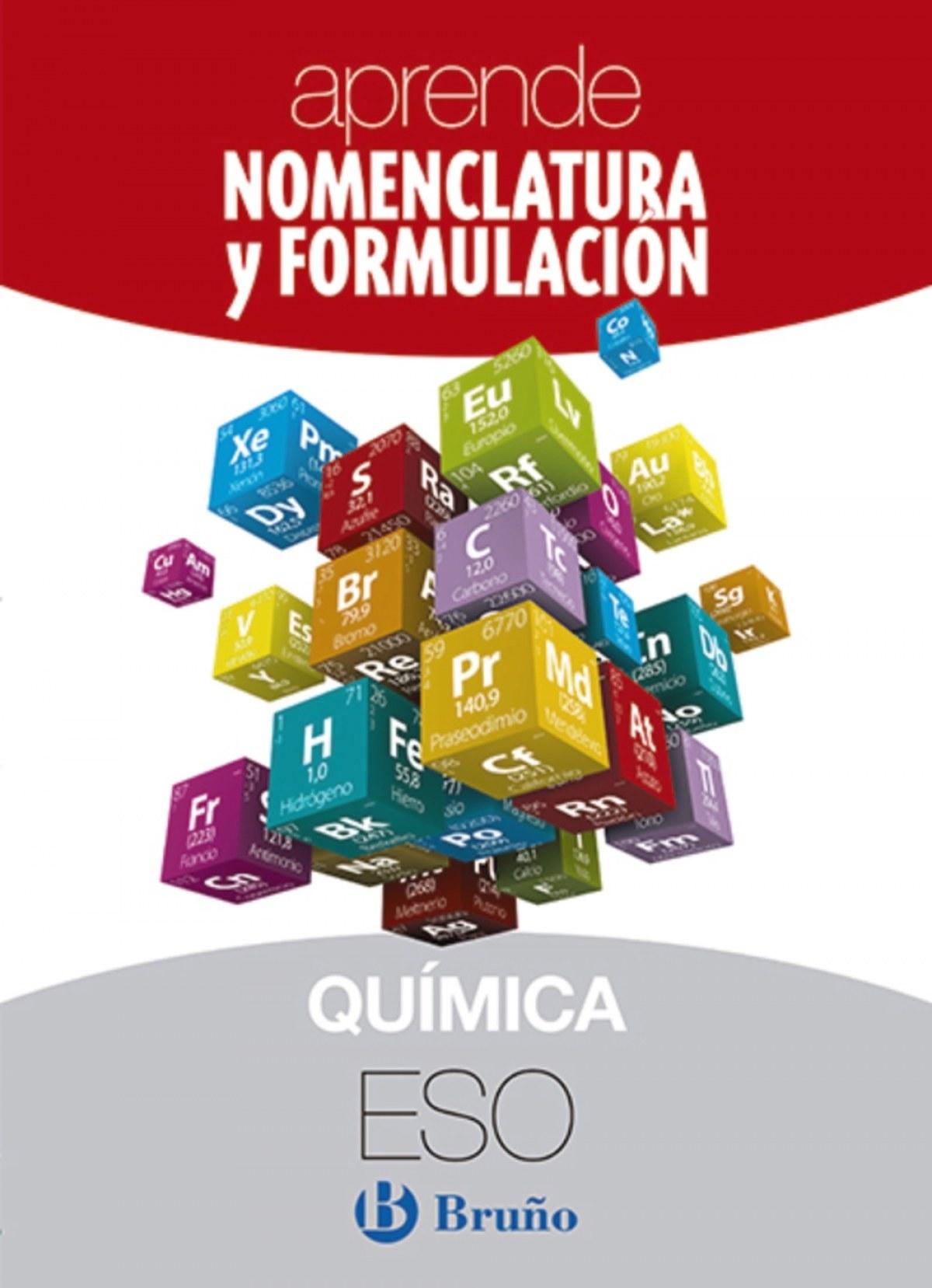 APRENDE NOMENCLATURA Y FORMULACIÓN QUÍMICA (ESO)