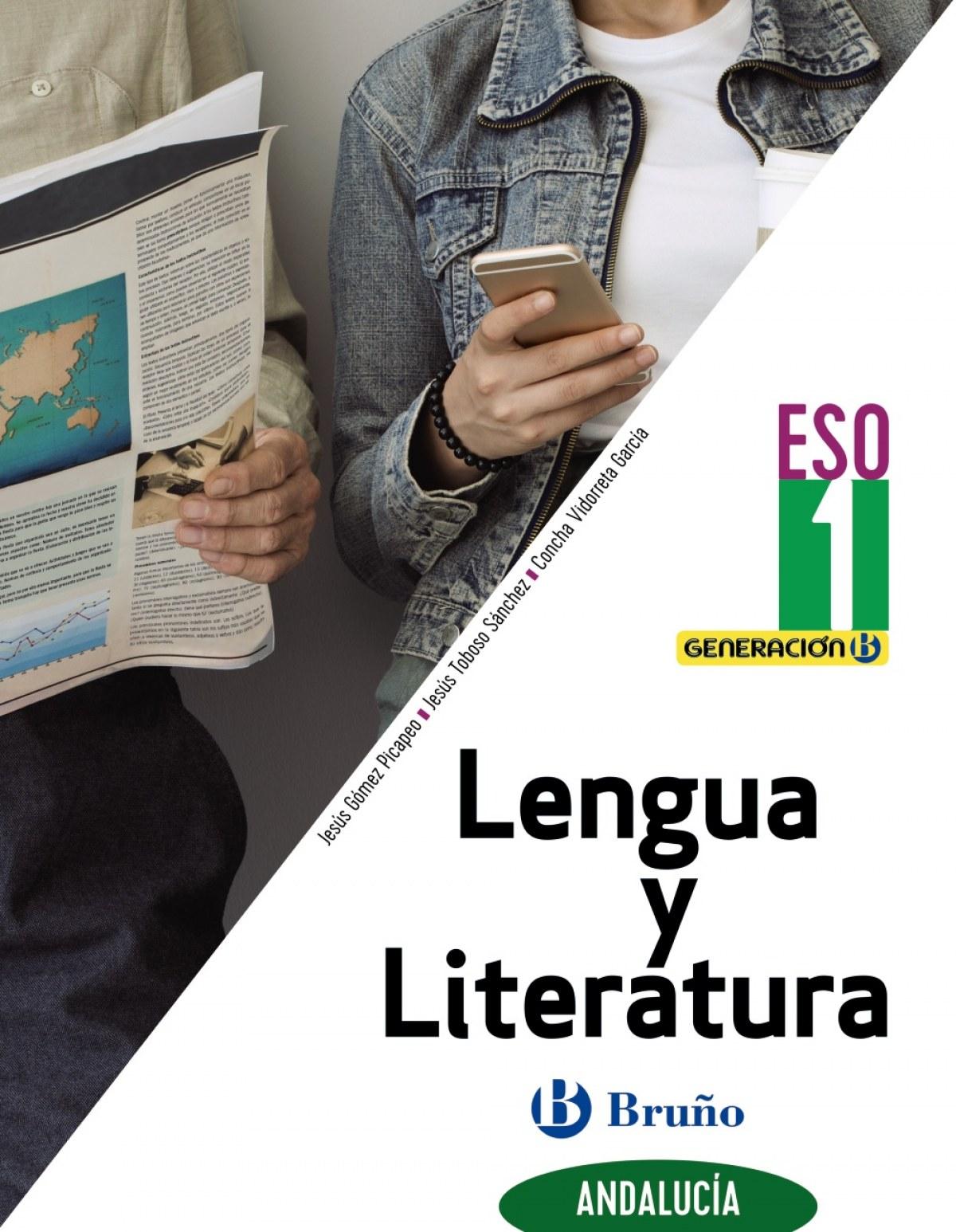 Generación B Lengua y Literatura 1 ESO Andalucía