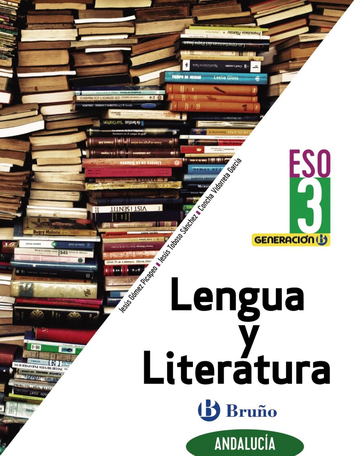 Generación B Lengua y Literatura 3 ESO Andalucía