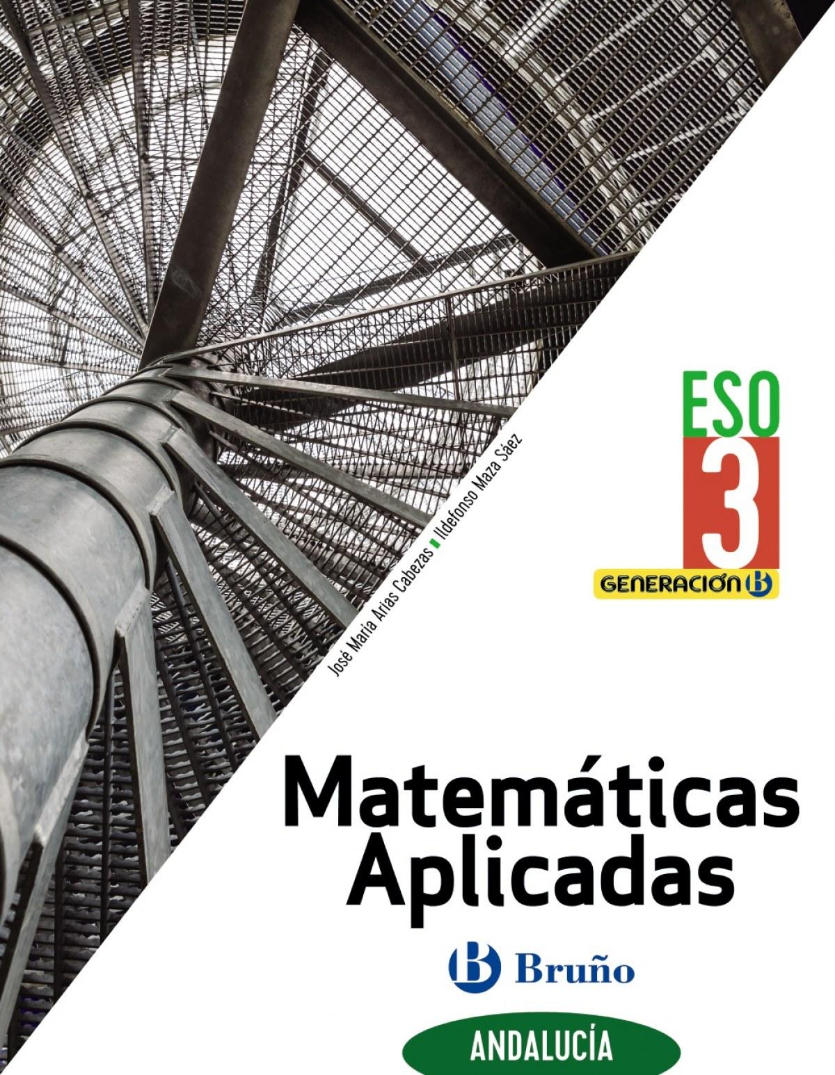 Generación B Matemáticas Aplicadas 3 ESO Andalucía