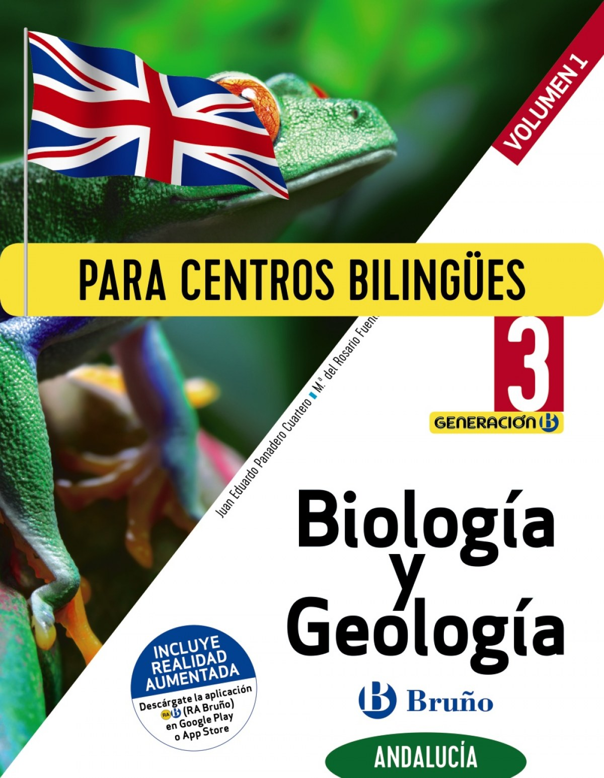 Generación B Biología y Geología 3 ESO Andalucía 3 volúmenes