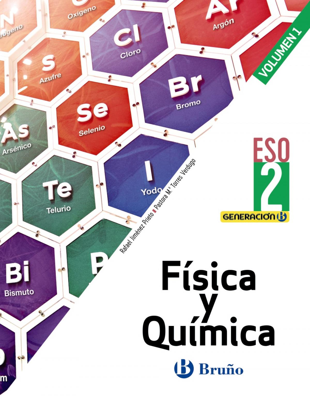Generación B Física y Química 2 ESO 3 volúmenes
