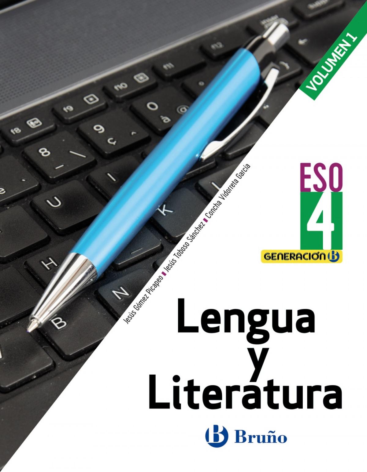 Generación B Lengua y Literatura 4 ESO 3 volúmenes