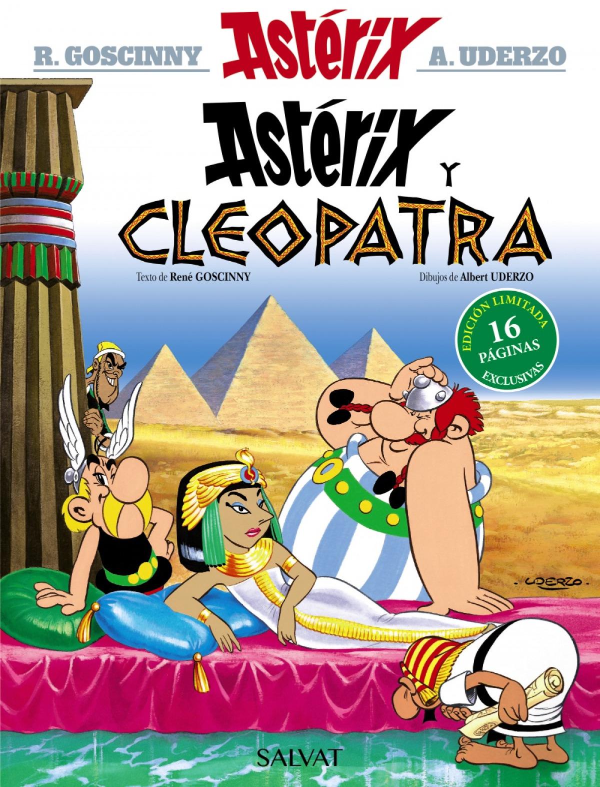 Astérix y Cleopatra. Edición 2021