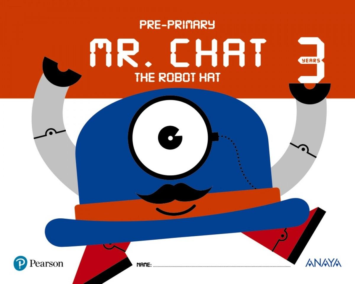 Resultado de imagen de mr chat the robot 3 años